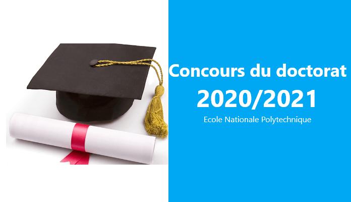 Concours du doctorats 2020-2021